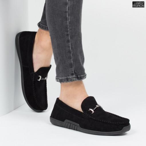 pantofi barbati din piele ecologica intoarsa