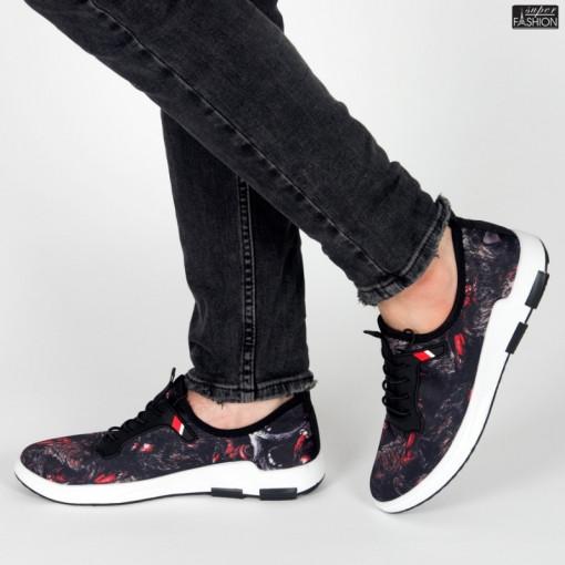 "Pantofi Sport ""Mei 880502 Red"" [S23E10]"