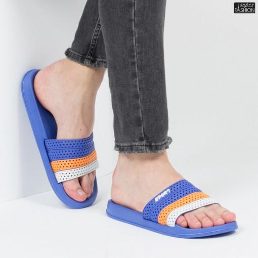 "Papuci ""Aierda 317 R. Blue'' [S10B1]"