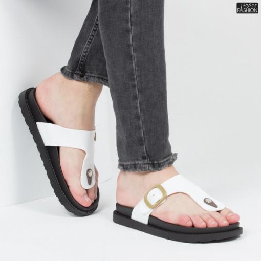 papuci barbati albi