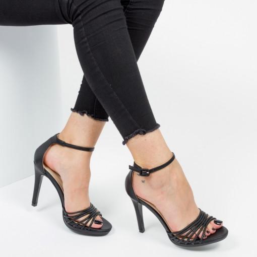 Sandale ''Mei Fashion XD7201 Black'' [D4F1]
