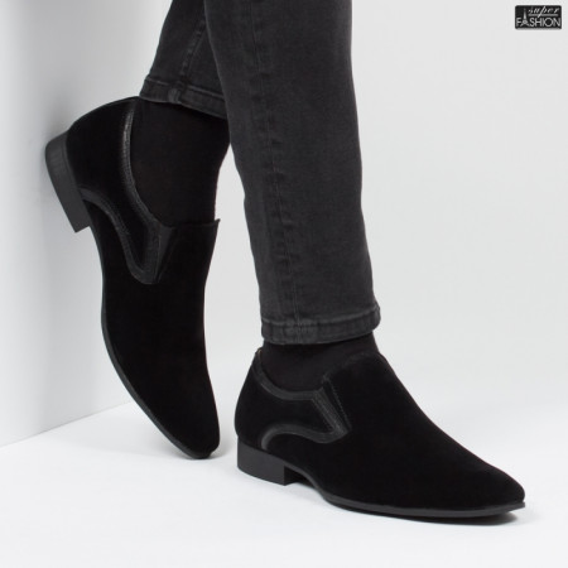 Pantofi ''ELY Style RG1883-2 Black'' [S4F1]