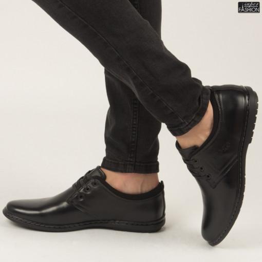 Pantofi ''Renda 30-63 Black'' [S1F3]