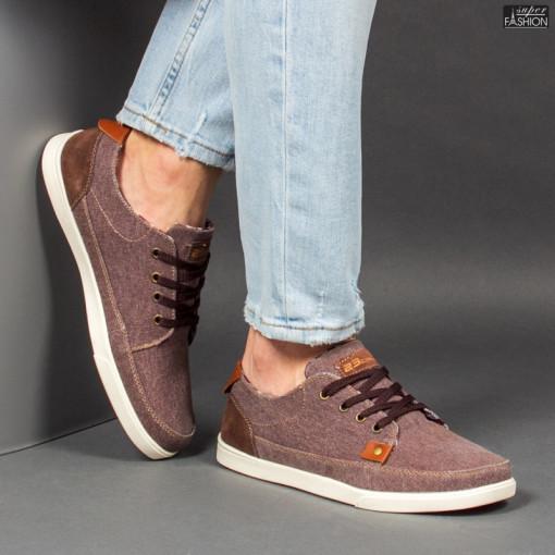 Pantofi Sport ''23DEC. M9036-02 Brown'' [S20E4]