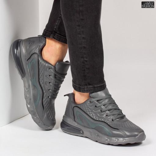 Pantofi Sport ''L&X A065 D. Grey'' [S10C8]