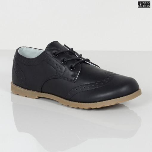 Pantofi Copii ''Apawwa H818 Black'' [D23C1]