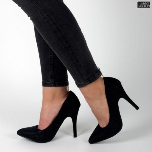 Pantofi ''Mei OL01431A01 Black'' [D4F10]