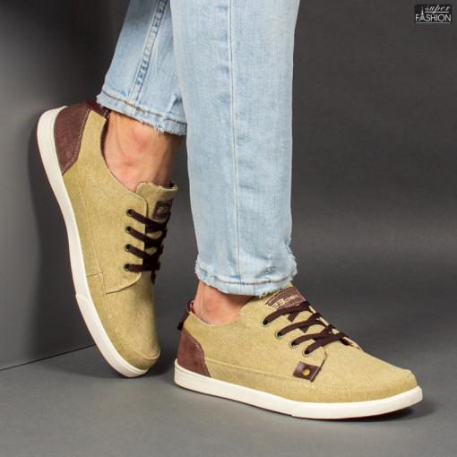 Pantofi Sport ''23DEC. M9036-03 Lt. Brown'' [S18E5]