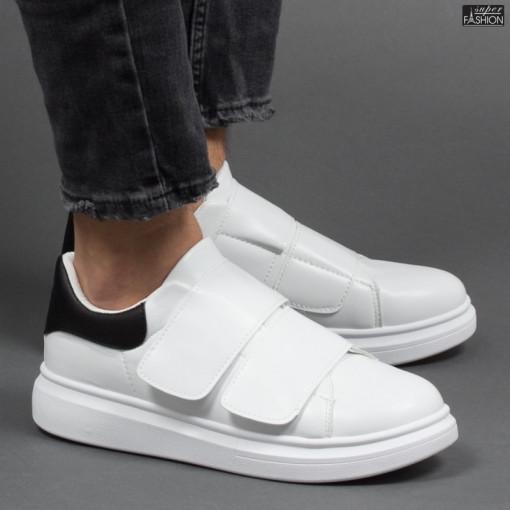 Pantofi Sport ''DCF.68 B83 White Black'' [S23E8]