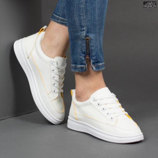 Pantofi Sport ''DON Fashion TS512 Yellow '' [D12E4]