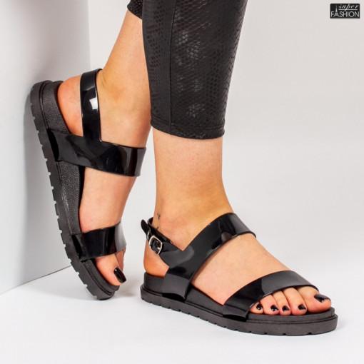 sandale dama negre