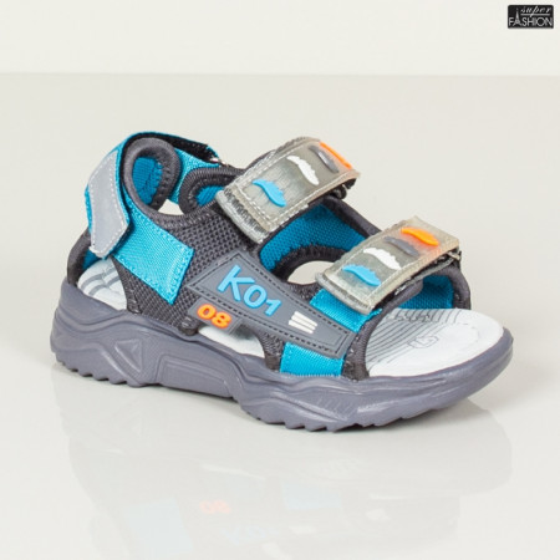 sandale baieti lejere