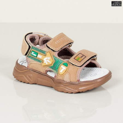 Sandale Copii ''DION B6 Khaki'' [S11B2]