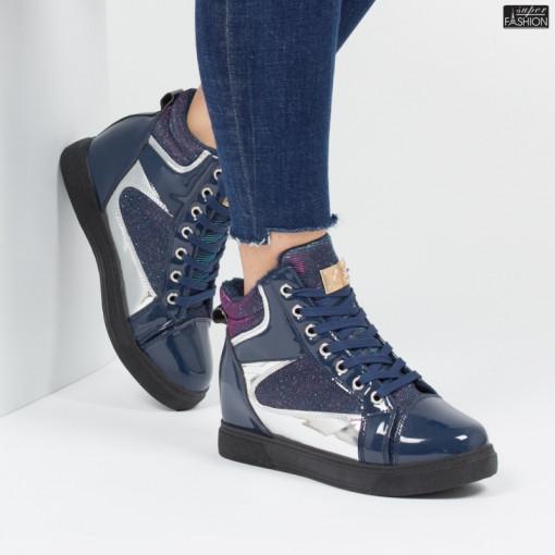 sneakers dama albastri