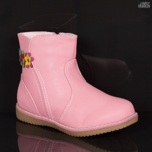 Cizme Copii ''Apawwa C-706 Pink'' [D14B8]