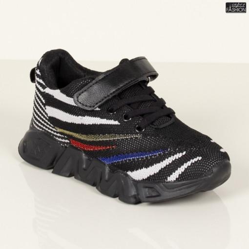 pantofi sport baieti negri