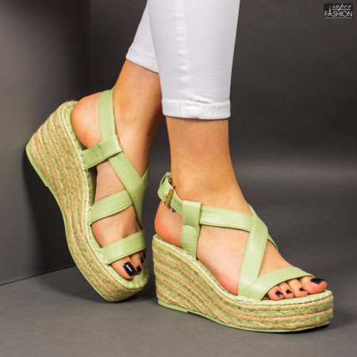 Sandale ''Bestelle Fashion JA002 Green'' [D15E10]