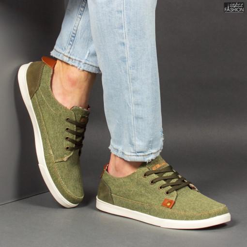 Pantofi Sport ''23DEC. M9036-32 Green'' [S14E9]