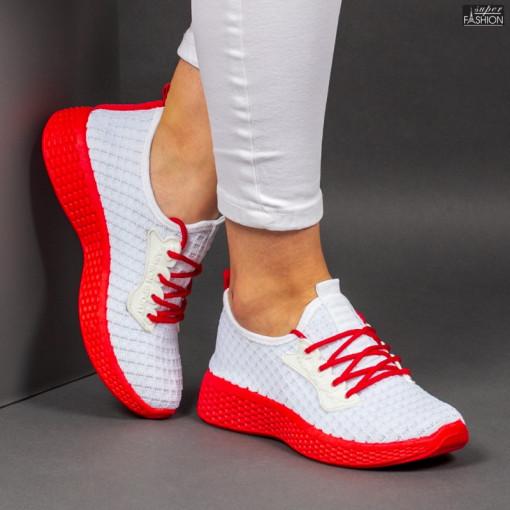 Pantofi Sport ''ALD Fashion HQ-34-163 White'' [D4D6]
