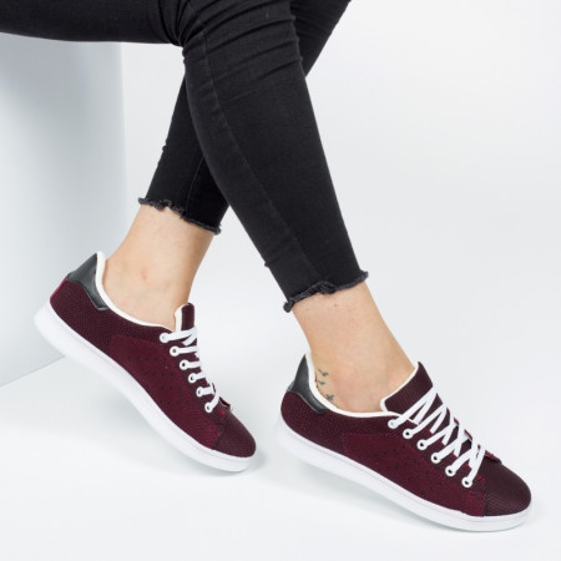 Pantofi sport ''DCF.68 Fashion LM009 Wine Red'' [D23E11]