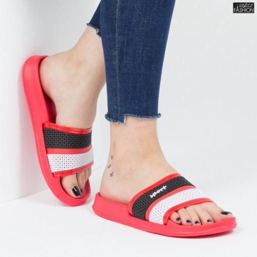 papuci dama rosii