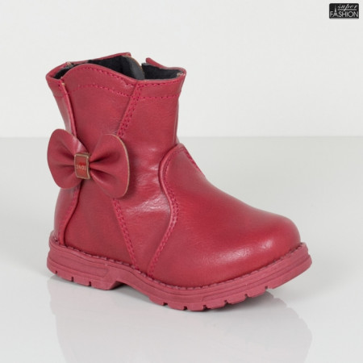 "Cizme Copii ""Fashion W-9 Red"" [D23C5]"