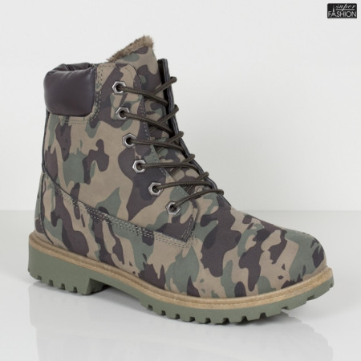 Ghete ''GGM 1809 Green Camouflage'' [D10B7]
