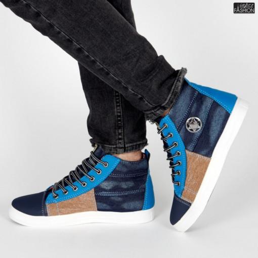 Ghete Sport ''Fashion Balq 2202 Blue'' [S18B3]