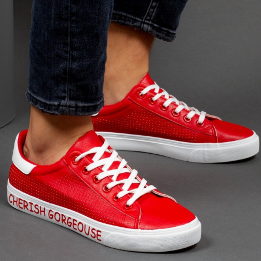 pantofi sport barbati din piele ecologica