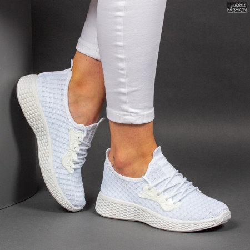 Pantofi Sport ''ALD Fashion HQ-34-154 White'' [D7D8]