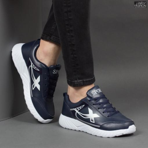 """Pantofi Sport """"SPORT Fashion 320 Navy White"""" [S20B12]"""