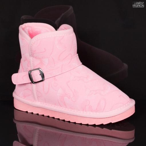 cizme fete roz