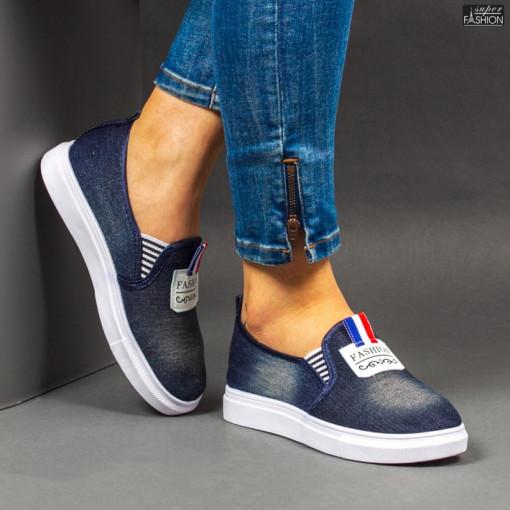Espadrile ''WE Fashion C31 D. Blue'' [D15A1]