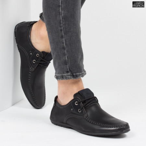 Pantofi ''HeroWay A8003-2 Black'' [S1F3]