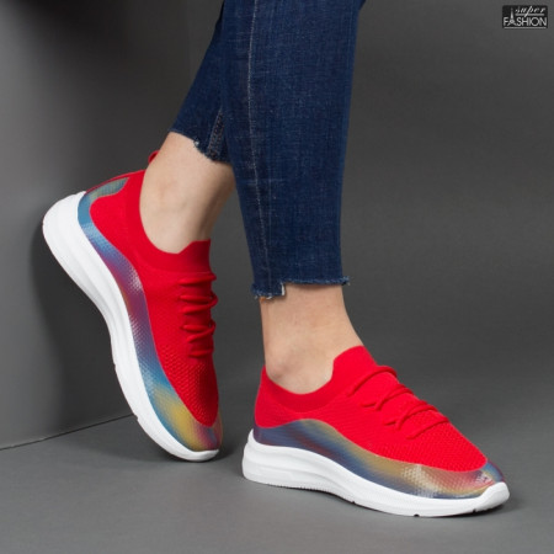 Pantofi sport ''ABC 1869 Red'' [D12C2]