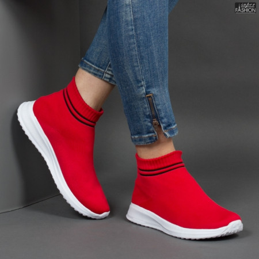 Pantofi Sport ''BAO SPORT H-5 Red Black'' [D18B7]