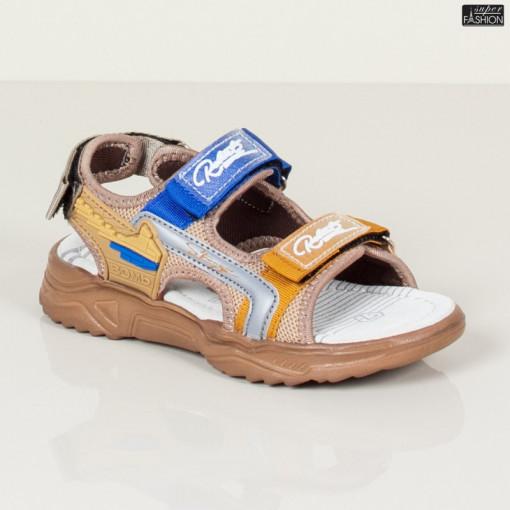Sandale Copii ''DION Q11 Khaki'' [S11C6]