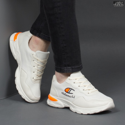 "Pantofi Sport ""WE Fashion 1901-1 Beige'' [S20B1]"