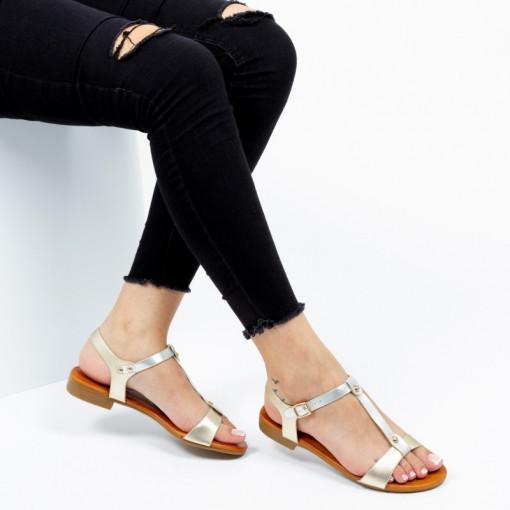 Sandale ''Mei Fashion JZF5 Gold'' [D12C7]