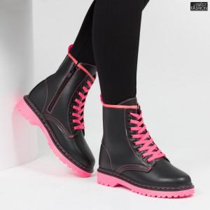 Ghete ''Lavy J2002-1 Black Pink''