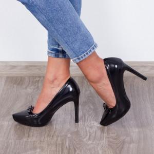 Pantofi ''ESTINT XQ327 Black''