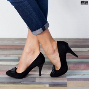 Pantofi ''Mei WT-67A Black''