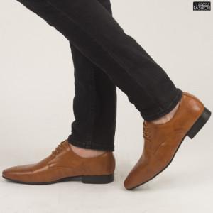 Pantofi ''OUGE RO-009 Yellow''
