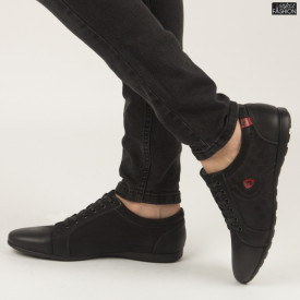 Pantofi ''Renda 69-3 Black'' [S1F2]