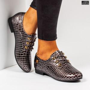 Pantofi ''Roliya Fashion 0157-2 Grey''
