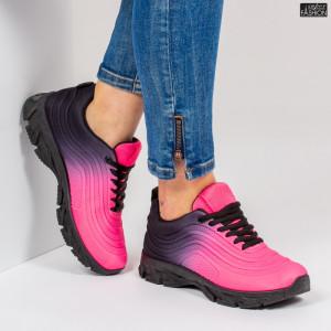 Pantofi Sport ''ABC J1836 Rose Black'' [D23E10]