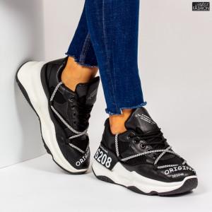 Pantofi Sport ''ABC W6607 Black''
