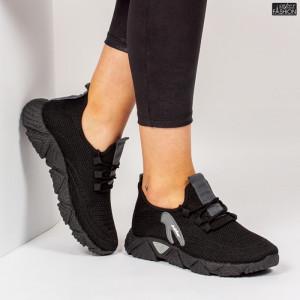 Pantofi Sport ''ALD Fashion HQ-202-232 Black Grey'' [D13E2]