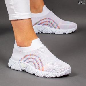 Pantofi Sport ''ALD Fashion HQ-210-278 White'' [D10D1]
