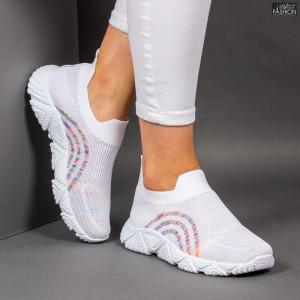 Pantofi Sport ''ALD Fashion HQ-210-278 White''